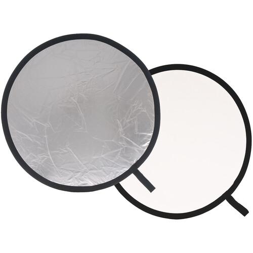 """Lastolite 20"""" Reflector - Silver/White"""