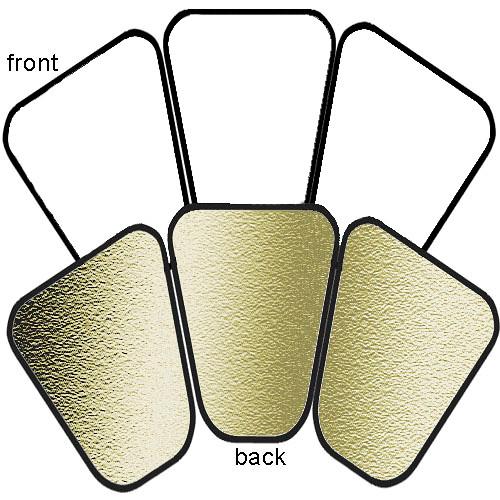 Lastolite Trilite Set of 3 Gold/White Panels