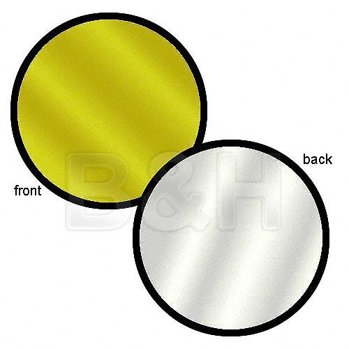 """Lastolite Collapsible Reflector (Silver/Gold, 30"""")"""