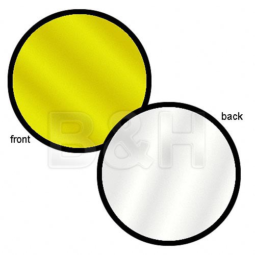 """Lastolite Collapsible Reflector (Gold/White, 30"""")"""