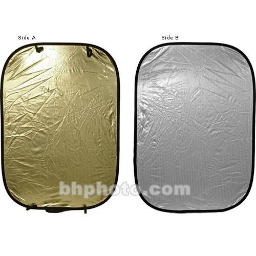 Lastolite Panelite Collapsible Reflector - Sunlite/Soft Silver - 4x6'