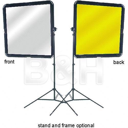 "Lastolite Silver/Gold Fabric for Skylite Frame/Panel Reflector - 42x42"""