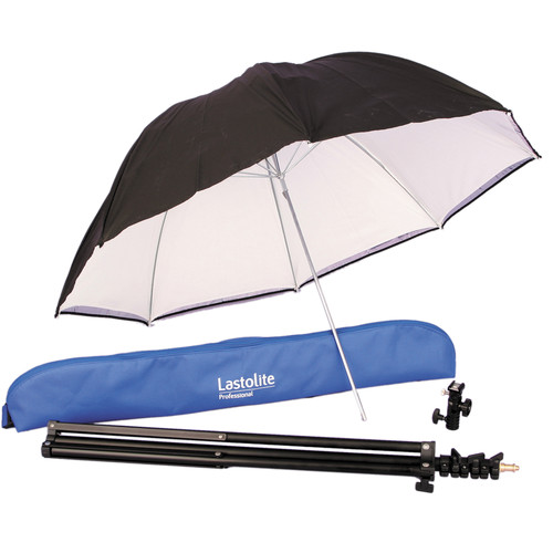 "Lastolite All-In-One Umbrella Kit - 34"" (80cm)"