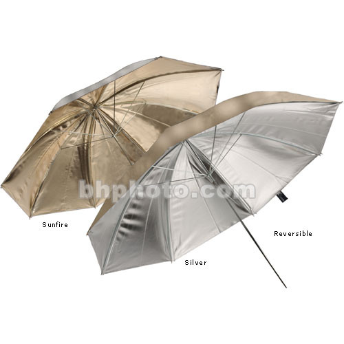 """Lastolite Umbrella - Reversible, Sunfire, Silver - 40"""""""