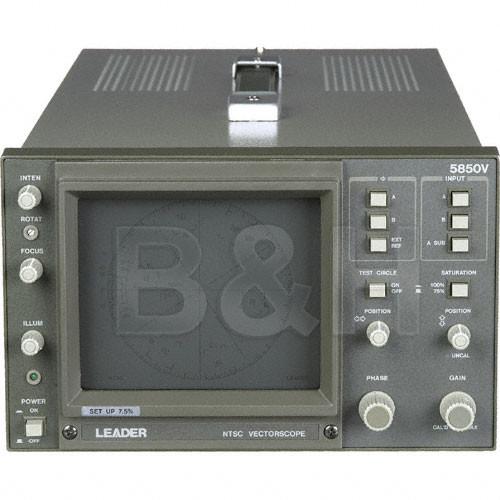 Leader 5850V NTSC Vectorscope, Composite
