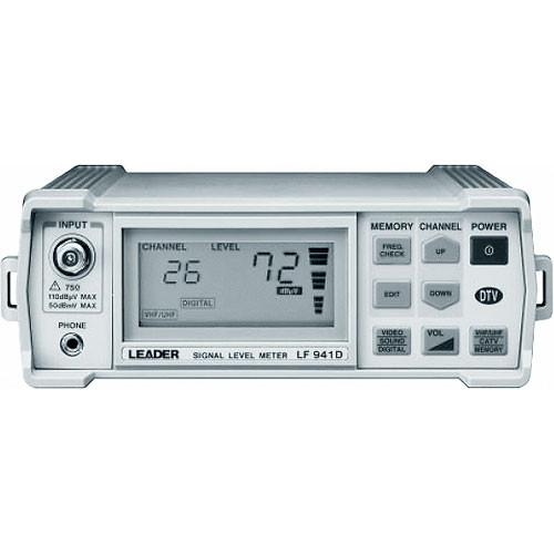 Leader LF941 CATV Signal Level Meter