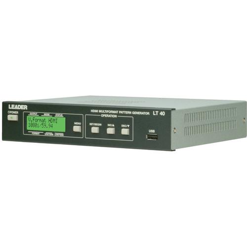 Leader LT40A HDMI Multi-format Pattern Generator