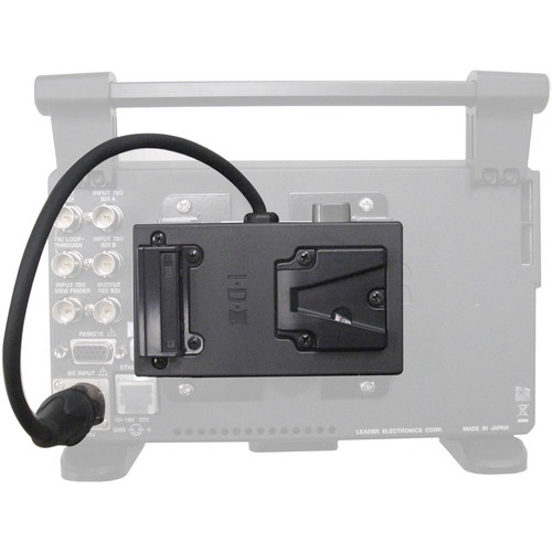 Leader LV5380-OP73 IDX Battery Mount (Pigtail)