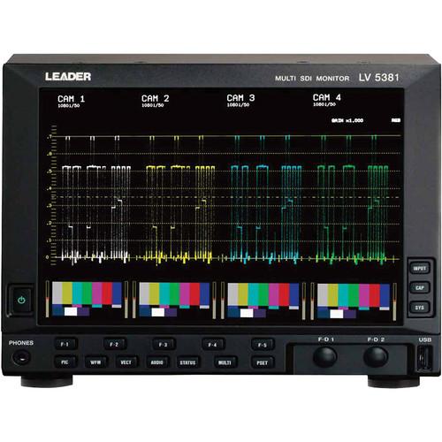 Leader Multi SDI Monitor