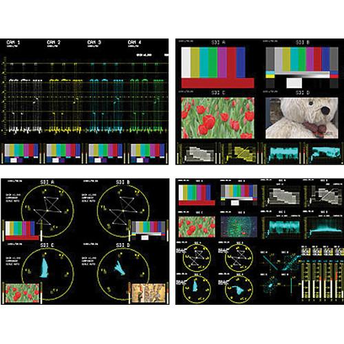 Leader Audio Lissajous Option for LV 5381 Multi SDI Monitor