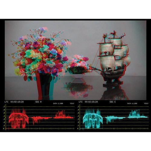 Leader 3D Assist Option for LV 5381 Multi SDI Monitor