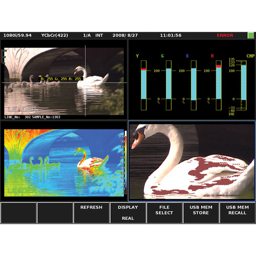Leader CINELITE II Software for LV5800 Multi SDI Rasterizer