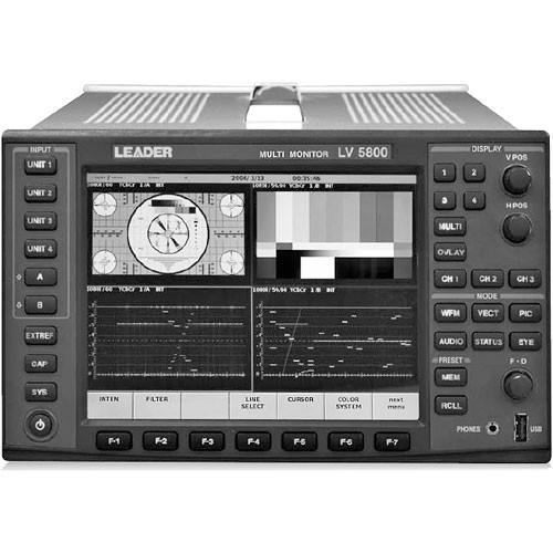 Leader LV5800 Multi-Monitor Platform