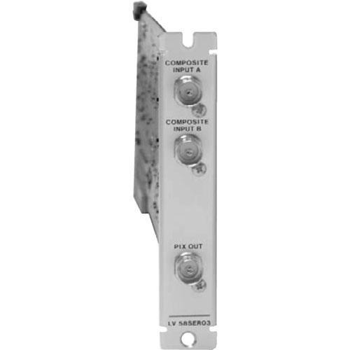 Leader LV5800OP03 Analog Input Module