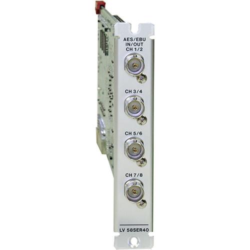 Leader LV58SER40 AES/EBU I/O Module