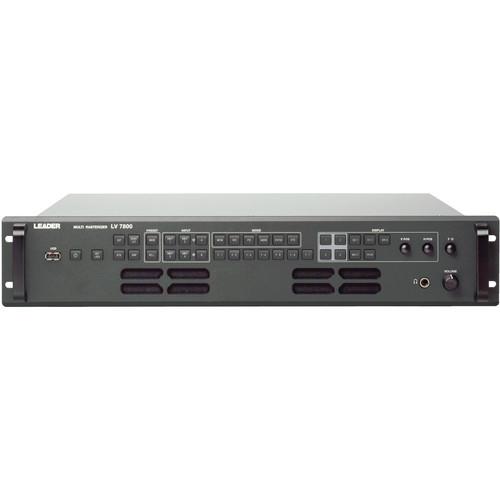 Leader LV7800 3G-SDI Multi Rasterizer