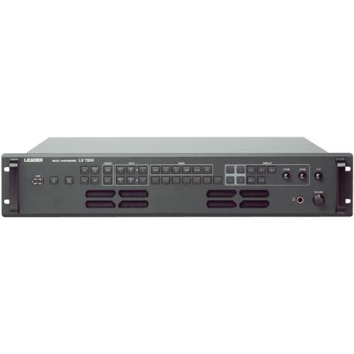 Leader LV7800 Multi SDI Rasterizer