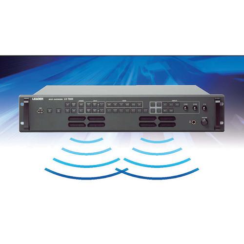 Leader Speaker Option for LV 7800 Multi Rasterizer