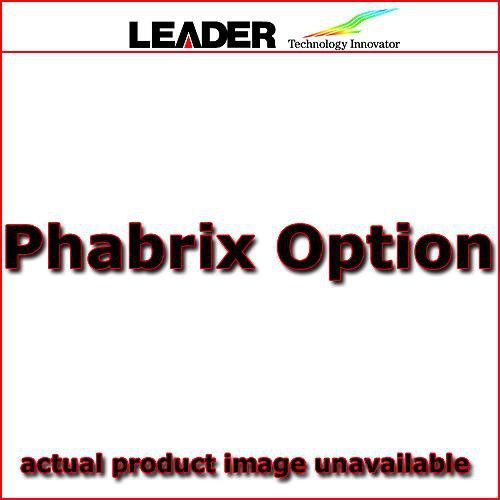 PHABRIX PHSXOS Option Command Scripts for PHABRIX