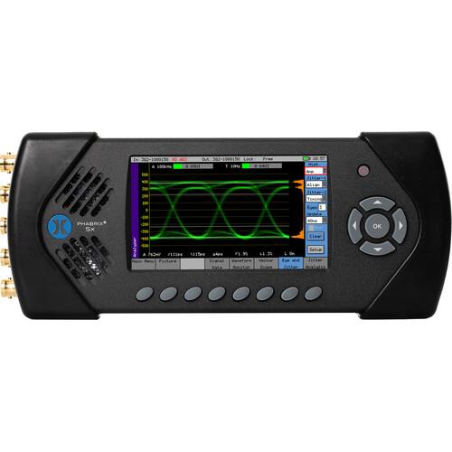 PHABRIX SxE 3 in 1 Generator/Analyzer/Monitor with Eye and Jitter