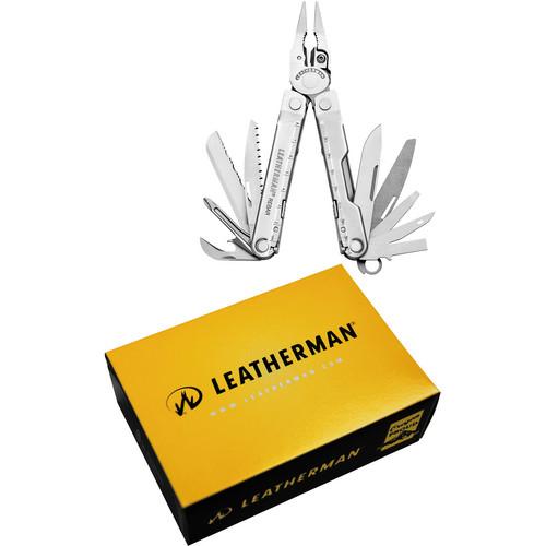 Leatherman Rebar Multi-Tool with Black Nylon Sheath (Stainless)