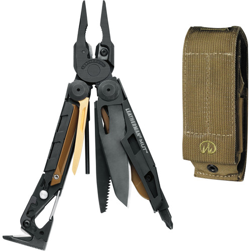 Leatherman MUT Multi-Tool with Brown MOLLE Sheath (Black Oxide)