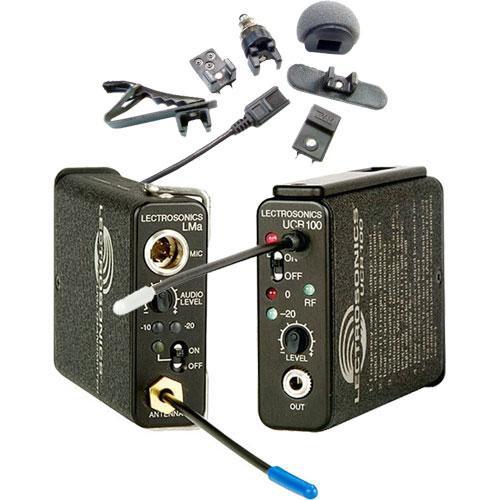 Lectrosonics 100 Series - Wireless UHF Lavalier Microphone System