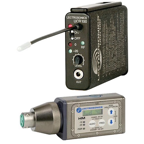 Lectrosonics 100 Series - Wireless UHF Plug-in Microphone System (Frequency Block 21)