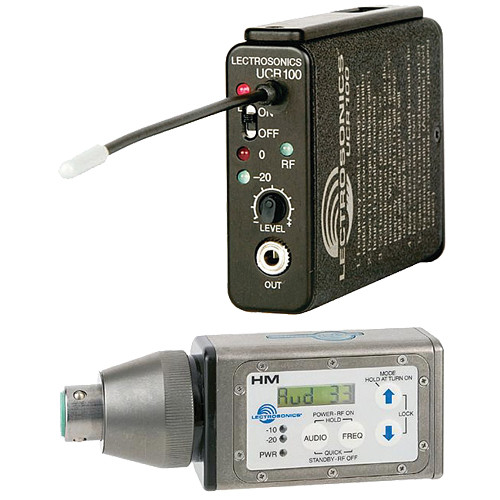 Lectrosonics 100 Series - Wireless UHF Plug-in Microphone System (Frequency Block 24)