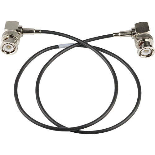 "Lectrosonics ARG2RT Right-Angle Mini Coaxial Antenna Cable with BNC Connections (24"")"