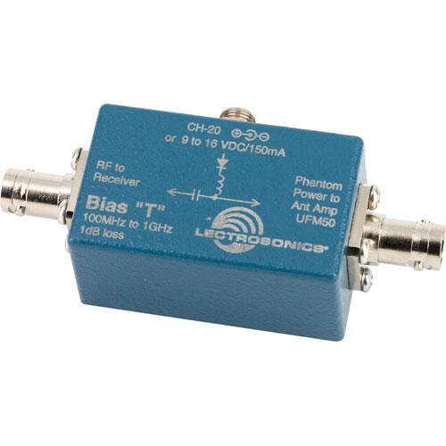 Lectrosonics BiasT - Inline Power Supply