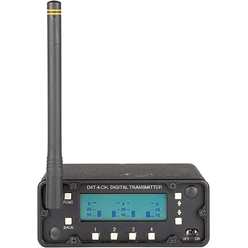 Lectrosonics D4T - Digital 4-Channel Wireless Transmitter
