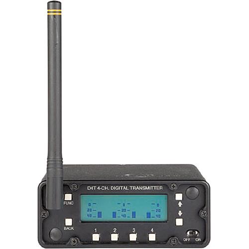 Lectrosonics D4T - Digital 4-Channel Wireless Transmitter