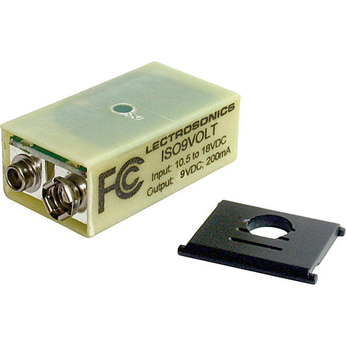 Lectrosonics ISO9VOLTH Battery Eliminator for UH Transmitters