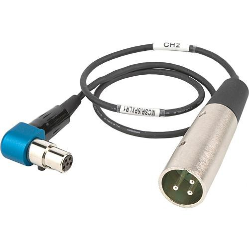 "Lectrosonics Right-Angle TA5-Female to XLR Cable for Lectrosonics SR Receiver 20"" (508mm)"