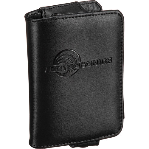 Lectrosonics PR1A Leather Pouch - for Lectrosonics R1a Belt Pack IFB Receiver