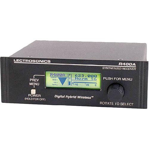 Lectrosonics R400A UHF Diversity Receiver (Frequency Block 19)