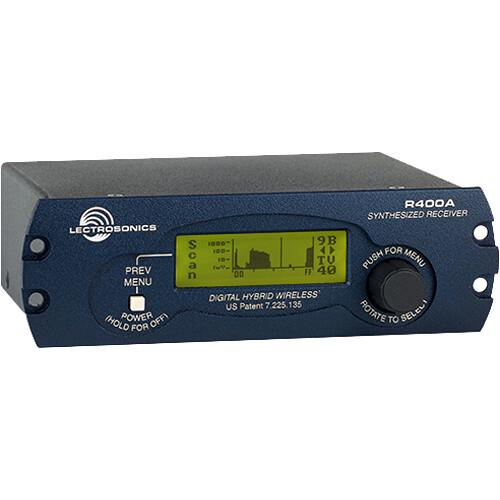 Lectrosonics R400A UHF Diversity Receiver (21)