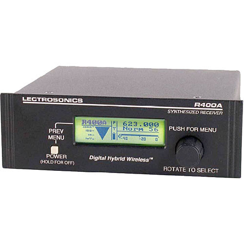 Lectrosonics R400A UHF Diversity Receiver (23)