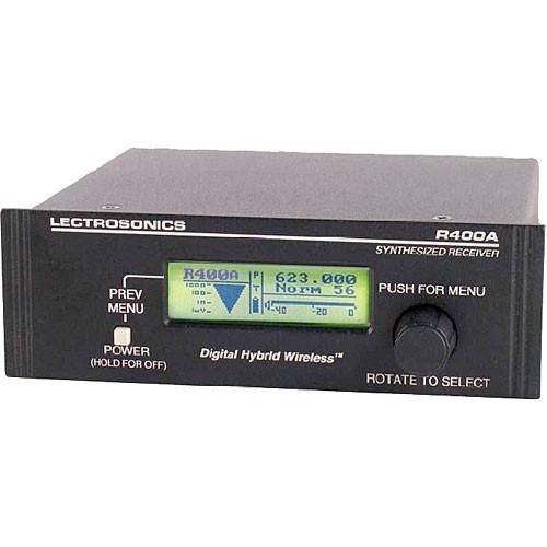 Lectrosonics R400A UHF Diversity Receiver (26)
