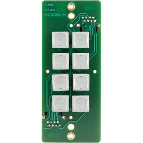 Lectrosonics RCWPB8 - Pushbutton Remote Control for DM Series Processors