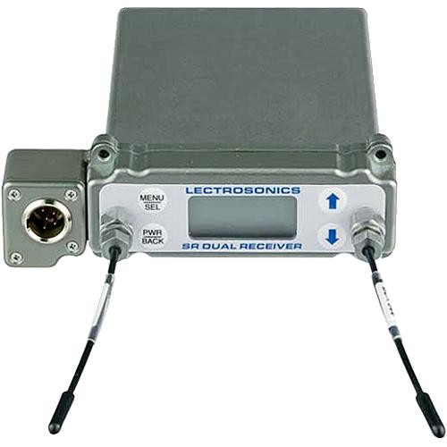 Lectrosonics SRb5P Dual-Channel Slot Mount Wireless ENG Receiver Kit with SREXT External Mounting