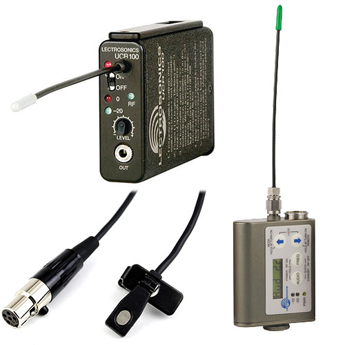 Lectrosonics UCR100 Wireless Microphone Kit