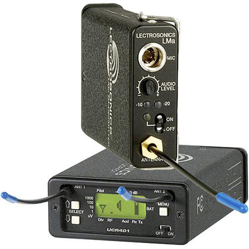 Lectrosonics 400 Series - Wireless UHF Lavalier System (No Mic) (Frequency Block 19)