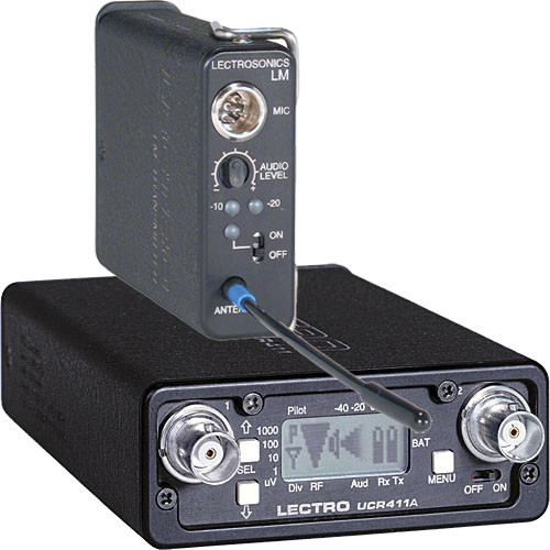 Lectrosonics 400 Series Wireless Lavalier Microphone System (No Mic) (Frequency Block 24)