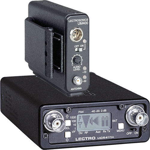 Lectrosonics 400 Series - Wireless Lavalier Microphone System (No Mic, Frequency Block 25)