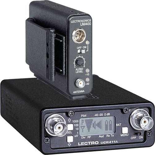Lectrosonics 400 Series Wireless UHF Lavalier Microphone System (No Mic) (Frequency Block 26)