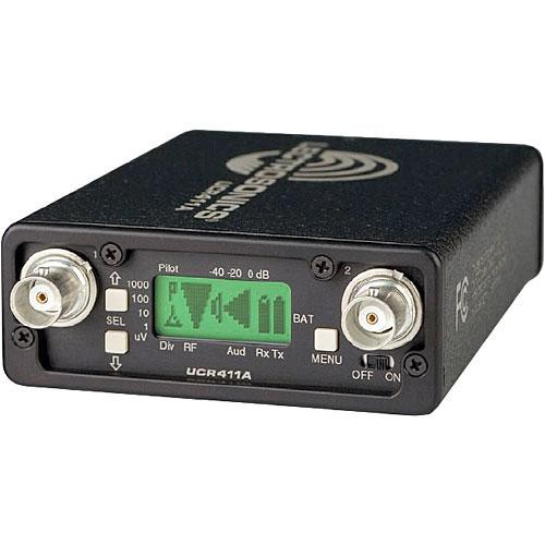 Lectrosonics UCR411A - Camera Mountable Receiver (Frequency Block 22)