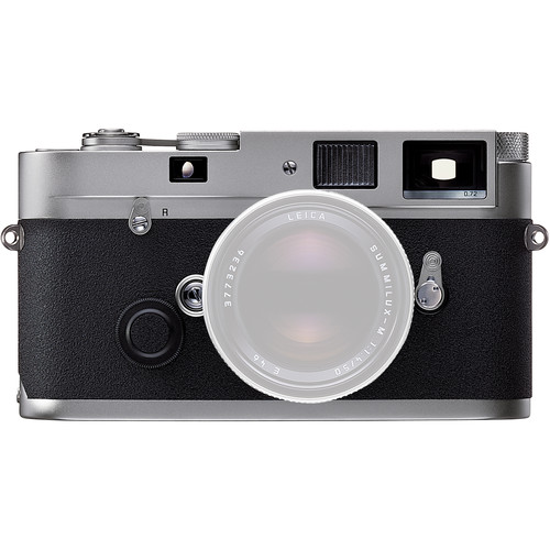 Leica MP .72 35mm Rangefinder Manual Focus Camera Body - Silver