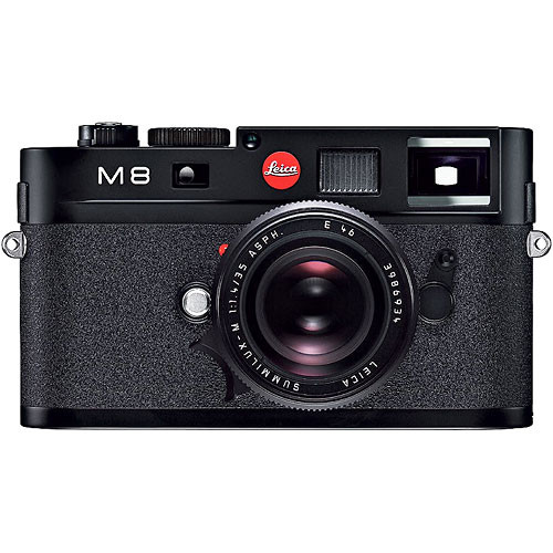 Leica M8 Rangefinder Digital Camera Body (Black)